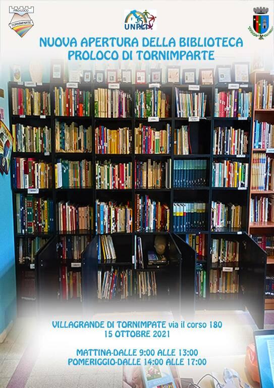 tornimparte biblioteca