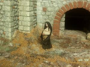 PRESEPE LUCIO CAPRI MARIA PANCIONE