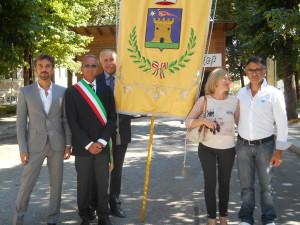 Il sindaco di Fagnano Alto Francesco D'Amore