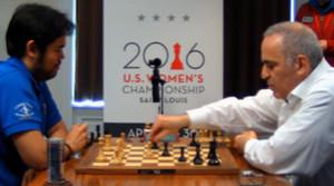 Nakamura contro Kasparov